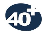 40+ לוגו